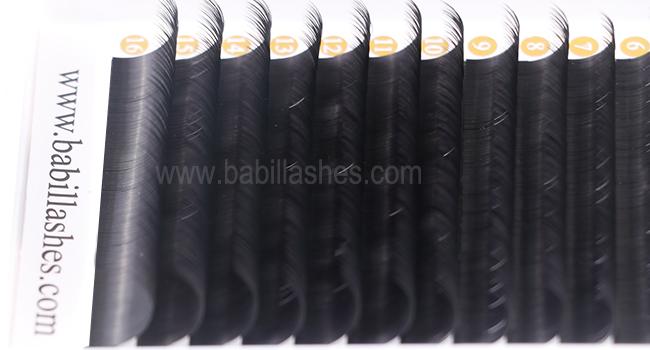 0 10mm Thickness korea silk eyelash extensions, China 0 10mm